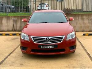 2009 Toyota Aurion At-X 6 Sp Auto Sequential 4d Sedan