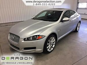 2013 Jaguar XF V6 AWD ACCIDENT FREE+ALL WHEELS DRIVE+340HP