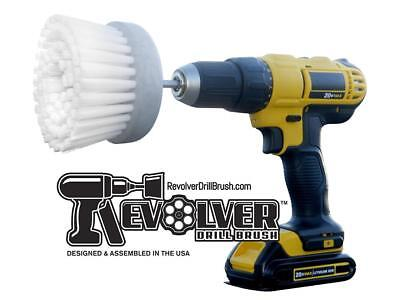 Revolver Drill Brush - Power Scrubbing Drill Attachment Deep Clean Tile & Grout
