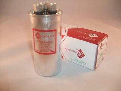 Dual 455 Mfd 370-440vac Electric Motor Run Oil Filled Capacitor Uf Hvac