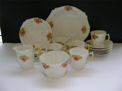 Pretty 20 Piece Vintage Tea Set by Royal Stafford.