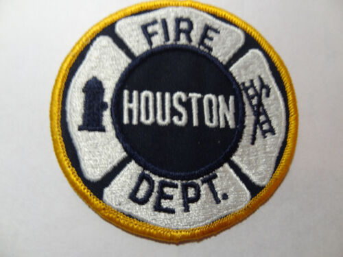 HOUSTON TEXAS FIRE DEPARTMENT PATCH.