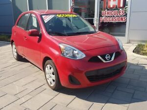 2015 Nissan Micra SV+ A/C+ EXCELLENTE CONDITION ALWAYS WELL MAIN