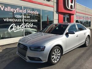 2014 Audi A4 KOMFORT TOIT MAGS A/C BLUETOOTH CRUISE