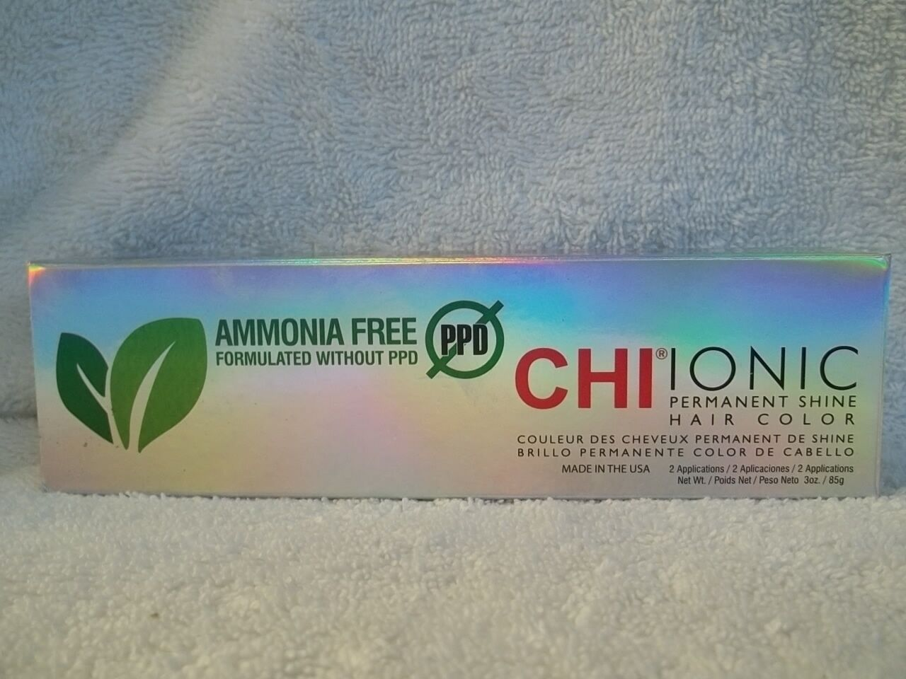 no ppd ammonia free ionic shine hair