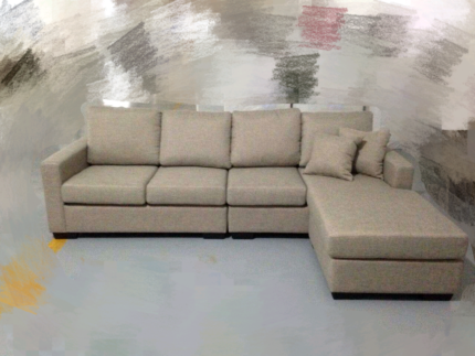 Factory direct to public brand new sofa 3 seater L-shape sofa:$59