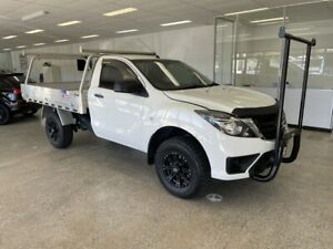 2018 Mazda BT-50 UR0YG1 XT White 6 Speed Sports Automatic Cab Chassis