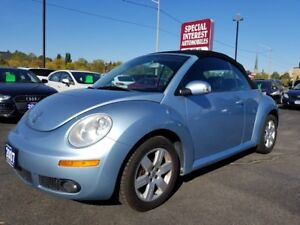 2007 Volkswagen New Beetle 2.5L CAR PROOF VERIFIED !!  LOCAL...