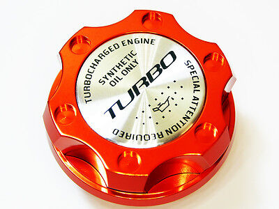 FITS FOR DODGE VIPER RT SRT ACR RAM SRT10 TURBO KIT ENGINE OIL CAP ORANGE