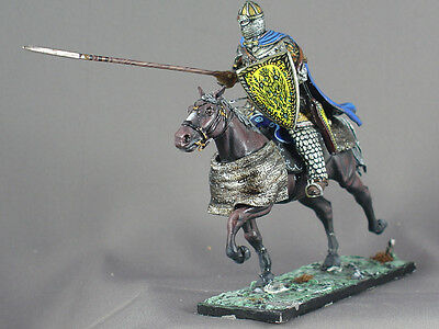 Medieval Knight 54mm model figure miniature Cavalry Byzantine Dark Ages Russian