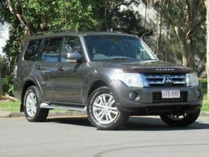 2012 Mitsubishi Pajero NW MY13 VR-X Grey 5 Speed Sports Automatic Wagon Slacks Creek Logan Area Preview