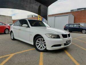 2006 BMW 320i E90 White 6 Speed Auto Steptronic Sedan