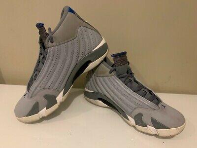 Nike Air Jordan XIV 14 Wolf Gray Grey 487471-004 CLEAN Retro Size 9.5 Rare