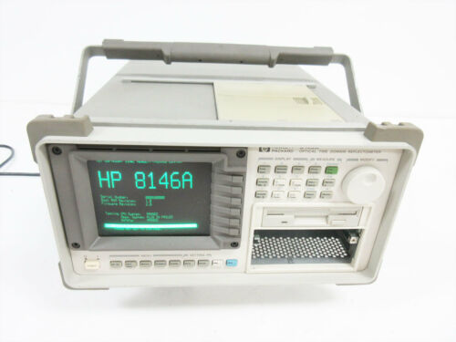 HP 8146A OPTICAL TIME DOMAIN REFLECTOMETER OTDR ~ AGILENT