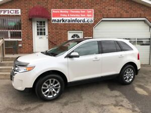 2013 Ford Edge Limited AWD Pano Roof Navigation Rear Camera BT