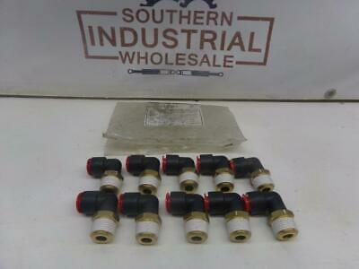 Smc Kql13-37s 12 Elbow Fitting Lot Of 10