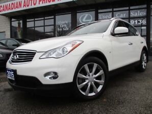 2015 Infiniti QX50 Journey-4WD-LTHER-SUNROOF-CAMERA-HEATED
