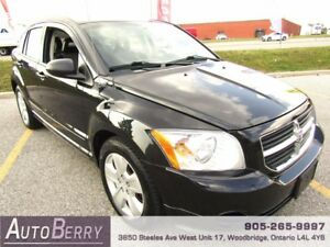 2009 Dodge Caliber SXT *** CERTIFIED *** LOW KM $5,299