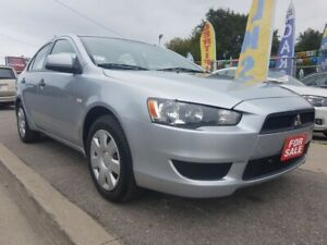 2009 Mitsubishi Lancer DE-EXTRA CLEAN-4 CYL-AMAZING ON GAS-MUST