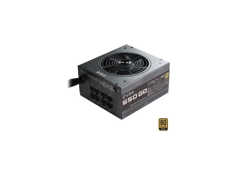 EVGA 650W ATX Modular Power Supply Black 210-GQ-0650-V1