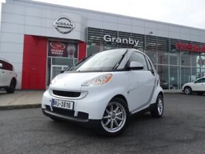 2008 Smart Fortwo PASSION/FORTWO/TOIT PANORAMIQUE/BLUETOOTH