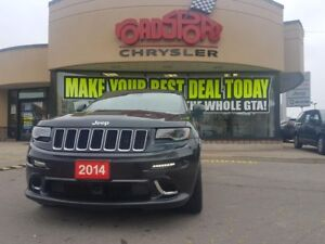 2014 Jeep Grand Cherokee SRT8 PANO ROOF TRAL TOW NAVI LOADED