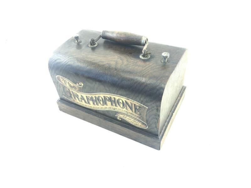 Case for Antique Columbia Graphophone Type Q