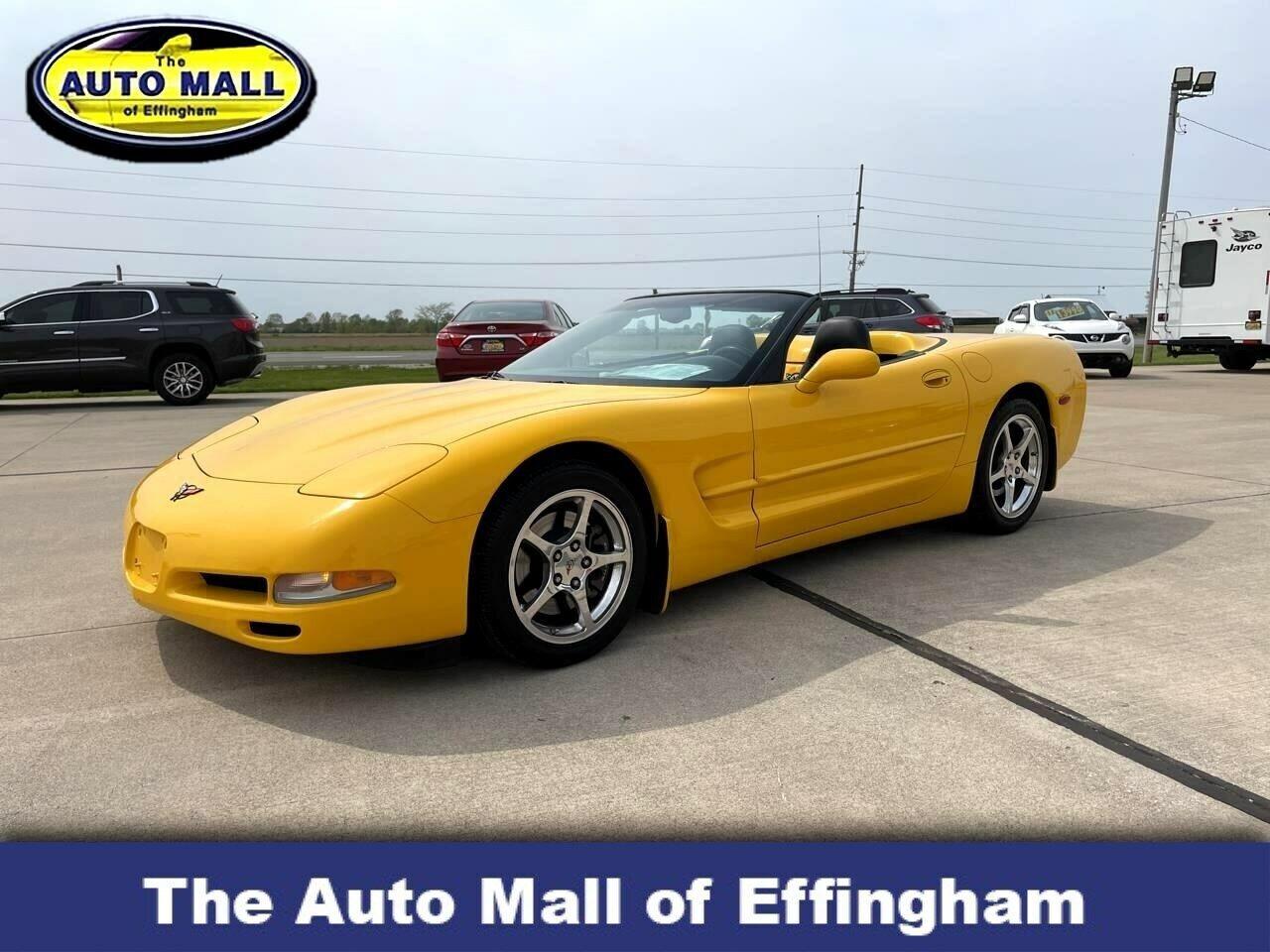 2004 Yellow Chevrolet Corvette Convertible    C5 Corvette Photo 1