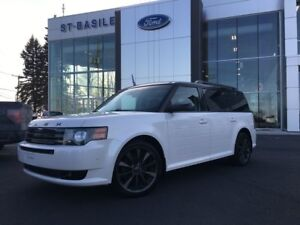 2012 Ford Flex TITANIUM / DVD / 112$ par semaine 7 Seater / Sunr
