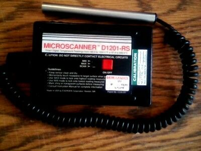 Nice ..... Exergen D1201-rs Temperature 190-1200f Or 87-648c Microscanner