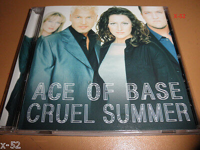 ACE OF BASE Cd CRUEL SUMMER Bananrama Cover WHENEVER YOU re NEAR ME Clive Davis - $11.99