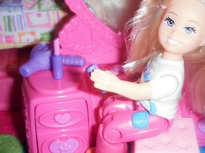 Barbie Hair Dryer & Lipstick Makeup Lot fit Fisher Price Loving Family Dollhouse