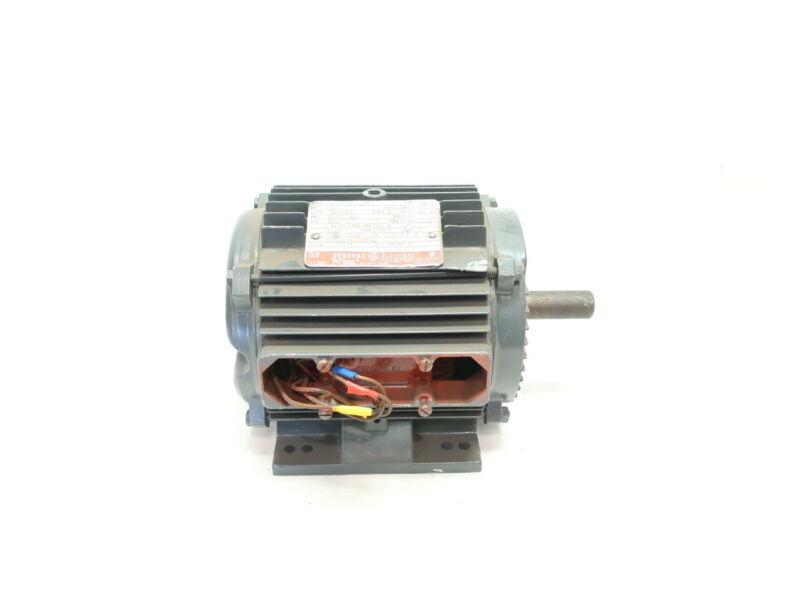 General Electric 5K143HL2128A Ac Motor 143t 3ph 1/2hp 1750rpm 7/8in 230/460v-ac