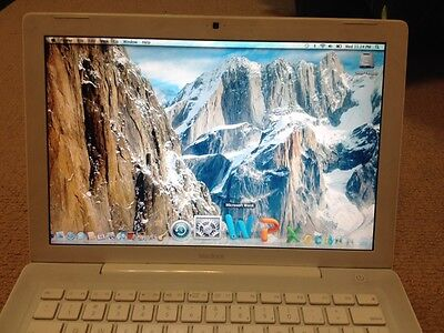 SALE! APPLE MACBOOK INTEL MICROSOFT OFFICE 2011 PRO DUALCORE MAC X WEBCAM LAPTOP