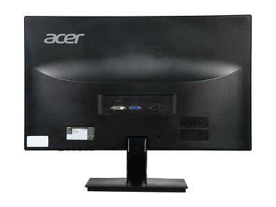 Used Acer H236HL Backlit LED LCD Monitor - Black. Unit only. No cables