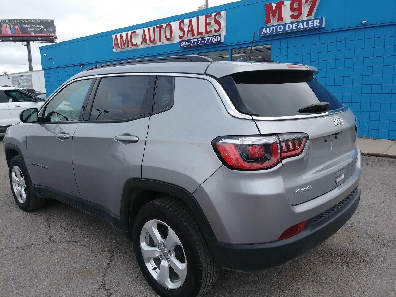 2018 jeep compass 4x4 gas mileage