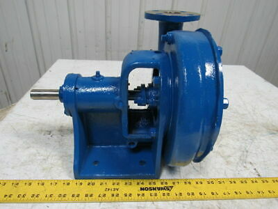 Stainless Steel 2x1-12 End Suction Centrifugal Chemical Pump W8 Impeller