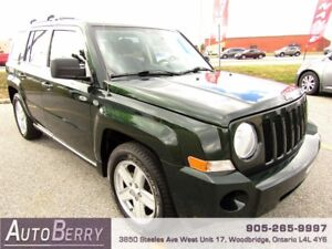 2010 Jeep Patriot North ***CERTIFIED ONE OWNER ACCIDENT FREE***