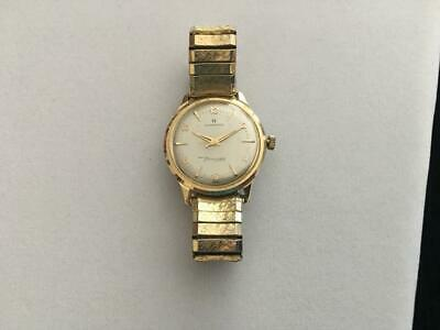 Vintage 1960's 14K SOLID GOLD Hamilton Thin-O-Matic Presentation Wrist Watch