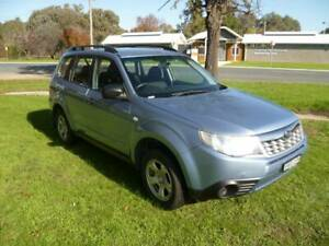 2011 SUBARU FORESTER X, 4WD WAGON, 2.5 LITRE PETROL, MANUAL Holbrook Greater Hume Area Preview