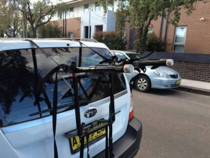 Allen 103D Deluxe 3 Bike Rack Carrier St Peters Marrickville Area Preview