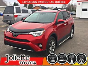 2016 Toyota RAV4 Limited AWD, INT. CUIR, TOIT OUVR, SYSTÈME DE N