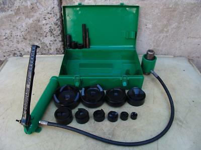 Greenlee 7310 Hydraulic Knockout Punch And Die Set 12 To 4  521