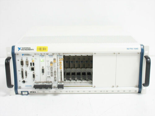 NATIONAL INSTRUMENTS PXI-1045 CHASSIS PXI-8186 PXI-8331 MXI-4 PXI-5610 PXI-5421
