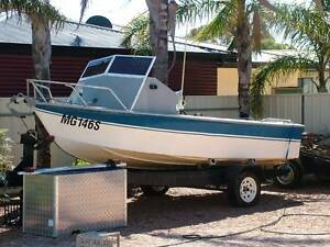 17 Ft Fiberglass Boat  Recond Holden 173 with Solf Clutch... Wallaroo Copper Coast Preview
