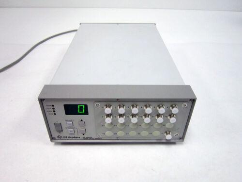 JDS UNIPHASE SB 1X12 C CONFIG FIBER OPTIC SWITCH MM MULTIMODE 750-940 NM 22XV