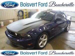 2012 Ford Mustang GT CONVERTIBLE MANUELLE