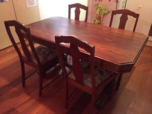 4 Silky Oak Chairs - Chairs only for sale Biggera Waters Gold Coast City Preview