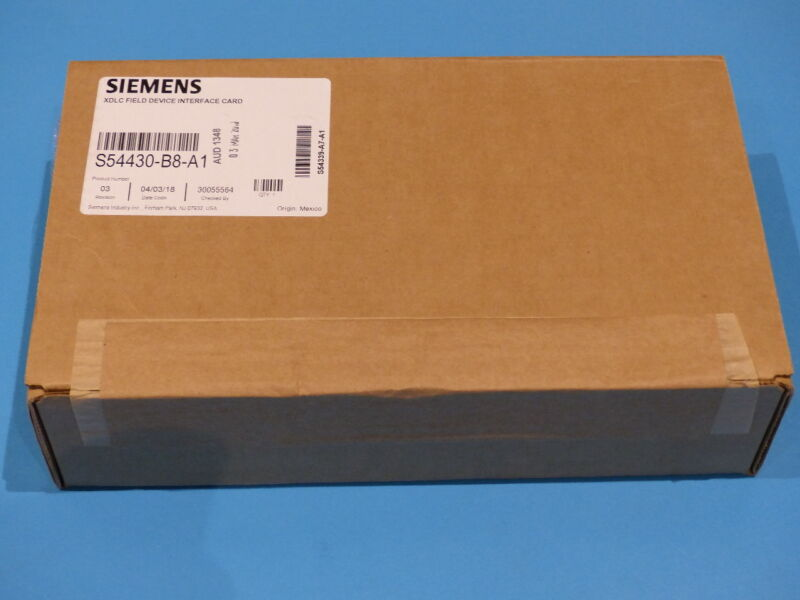 SIEMENS XDLC FIELD DEVICE S54430-B8-A1