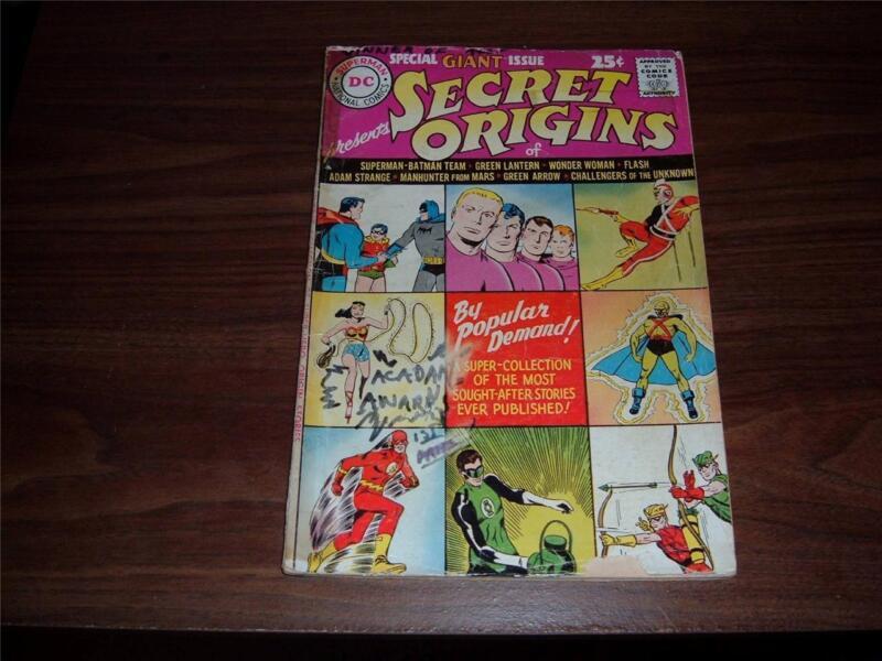 Secret Origins 1 g- (1961)